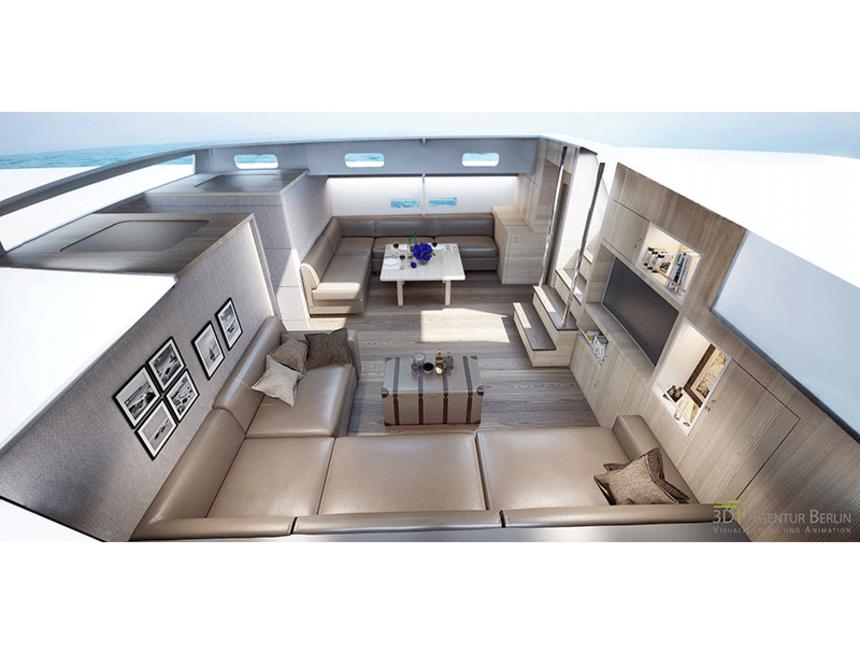 3d Visualisierung Berlin 3d visualisierung innenraum yacht 3d agentur berlin