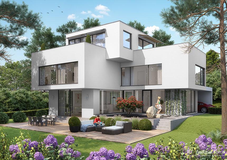 Visualization cube house 3d agentur berlin - Design agentur berlin ...