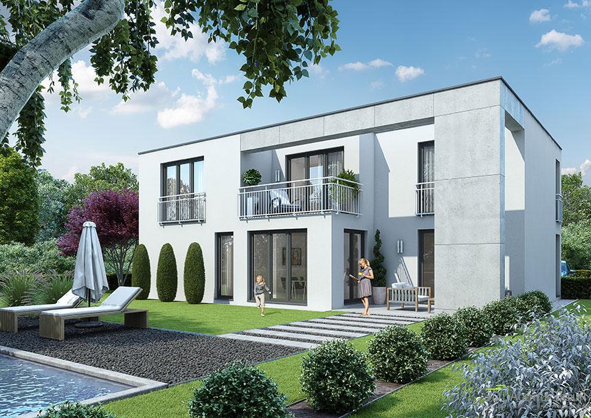 Architekturvisualisierung Berlin visualization bauhaus 3d agentur berlin