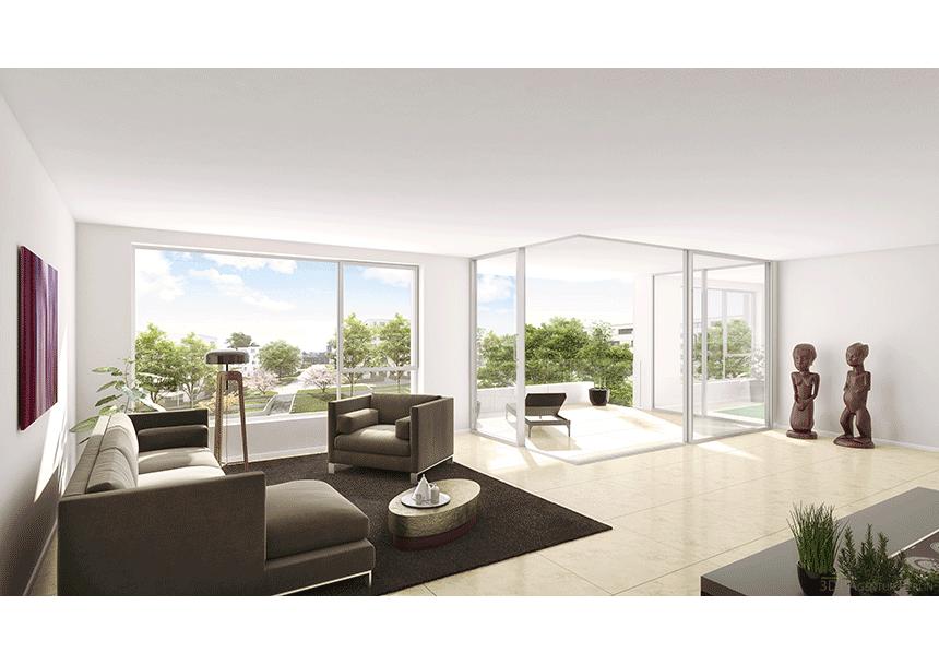3d innenraumvisualisierung haus am park w1 3d agentur berlin. Black Bedroom Furniture Sets. Home Design Ideas