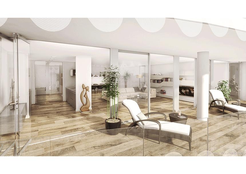 3d innenraumvisualisierung tower w15 3d agentur berlin. Black Bedroom Furniture Sets. Home Design Ideas