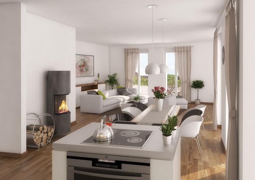 3d innenraumvisualisierung suarezstra e 3d agentur berlin. Black Bedroom Furniture Sets. Home Design Ideas
