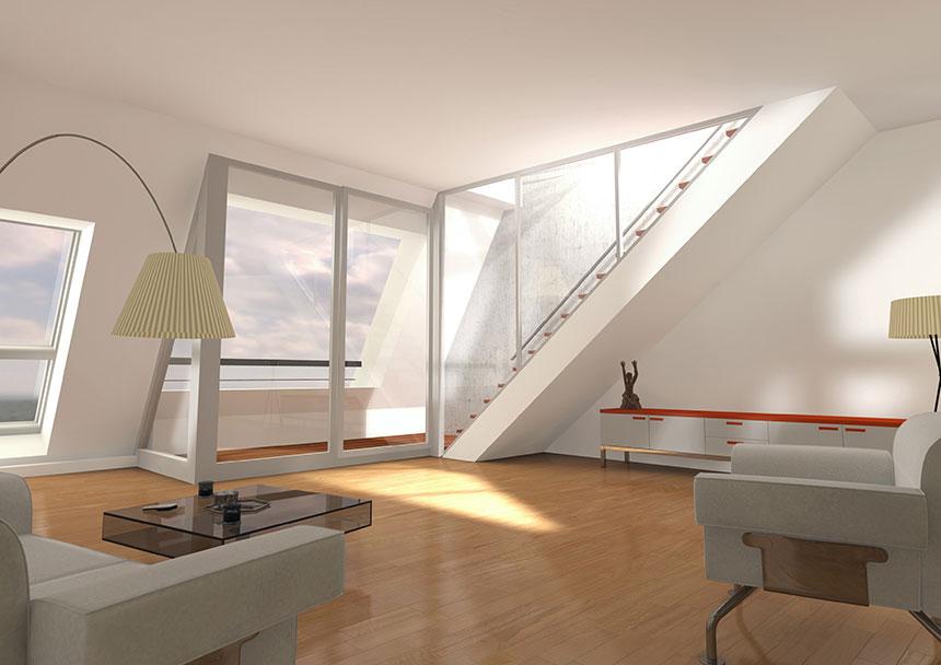 gieselerstrasse dachgeschoss 3d innenraumvisualisierung 3d agentur berlin. Black Bedroom Furniture Sets. Home Design Ideas